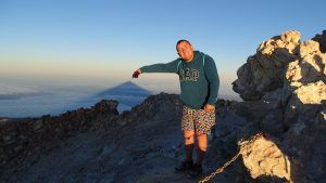 amanecer desde el Teide