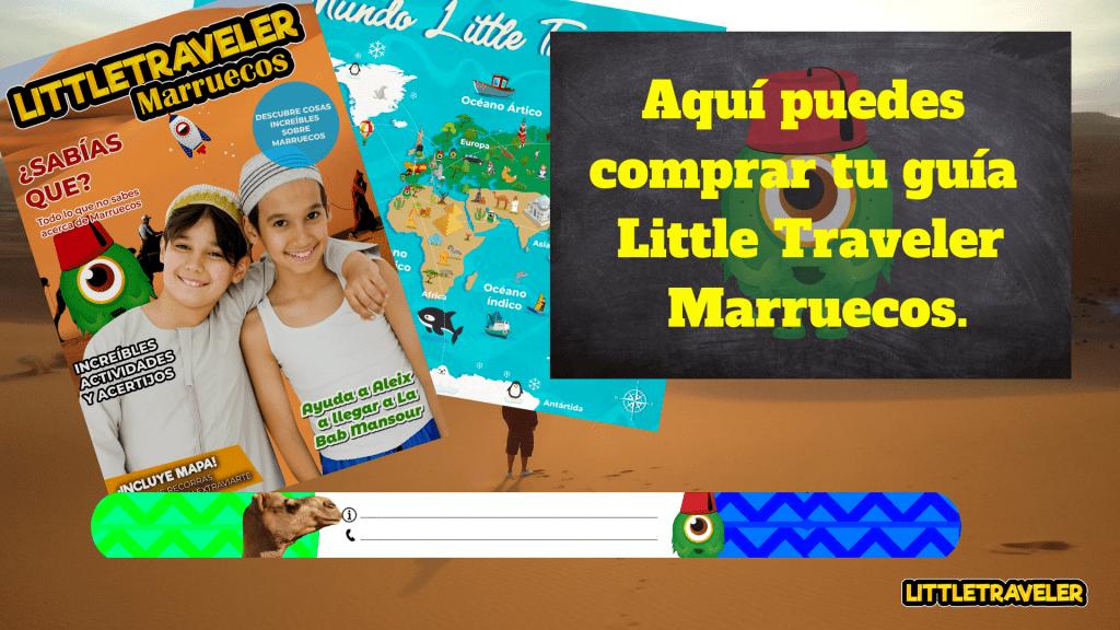 guias de viaje para niños de marruecos