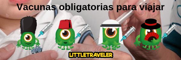 Vacunas para un viaje con niños