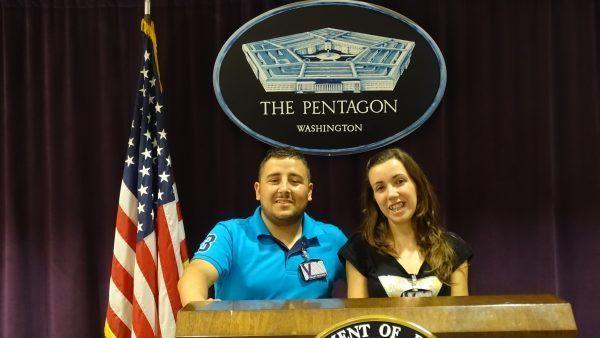 visita al Pentágono