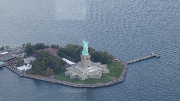 Helicóptero en Nueva York
