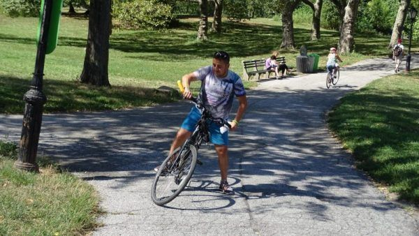 Visita Central Park en bicicleta