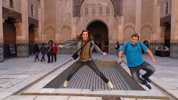 Tour por la medina de Marrakech en español.
