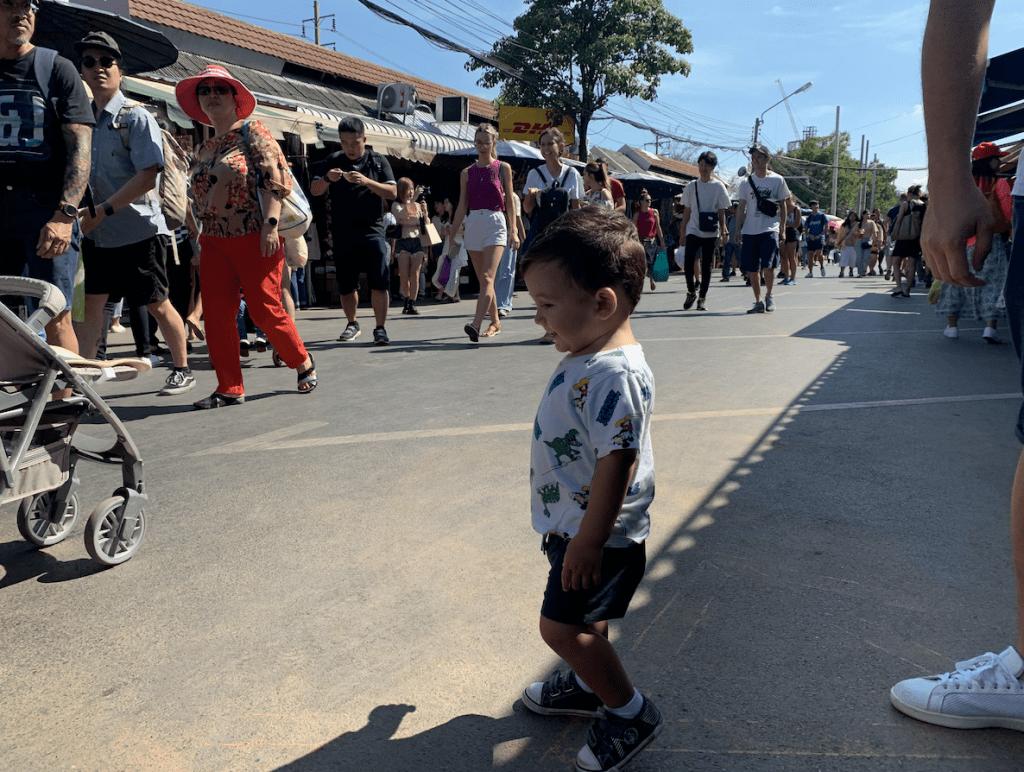El mercado más grande de Bnagkok