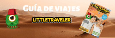 Guía de viajes para niños Little Traveler Marruecos.