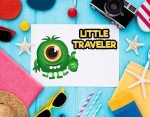 guía de viaje para niños