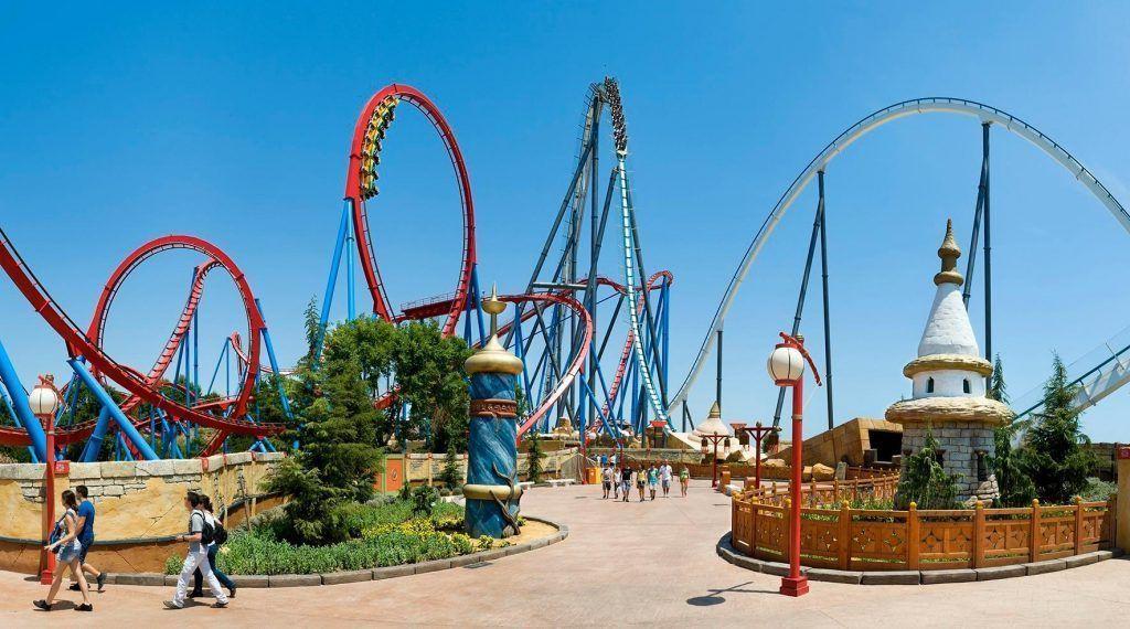Portaventura uno de los mejores parques de atracciones del mundo