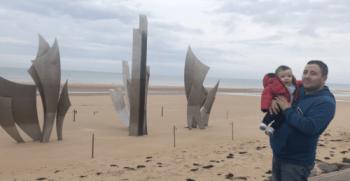 playas del desembarco de Normandía