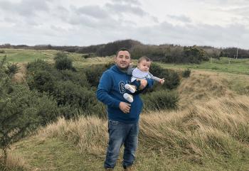 desembarco de normandia con niños