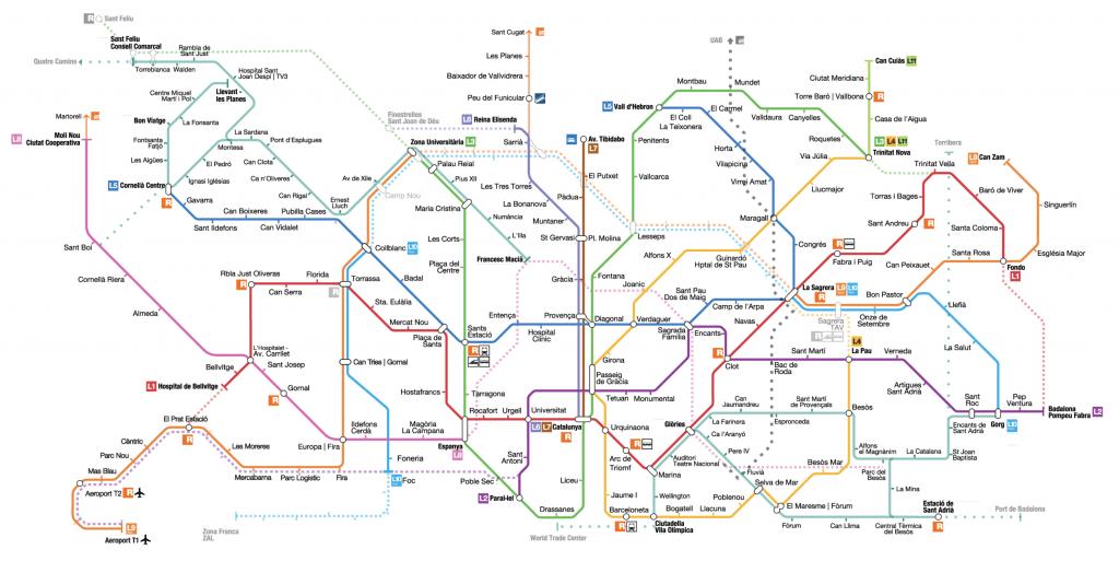 Como ir al aeropuerto de Barcelona en Metro
