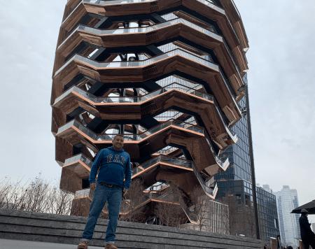 The Vessel en Hudson yards