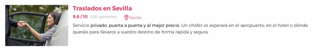 Actividades en Sevilla