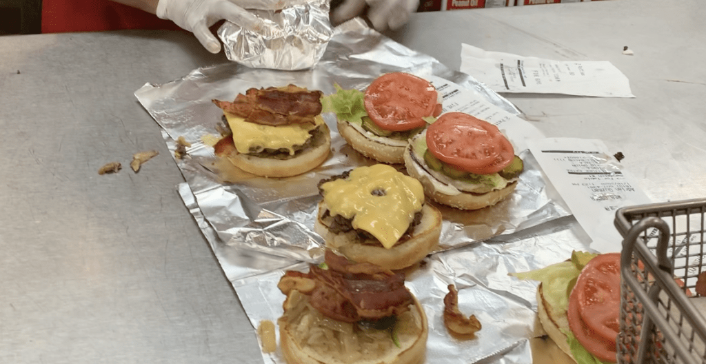 five guys hamburguesas de Nueva York