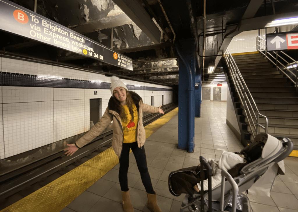 lineas del metro de Nueva York