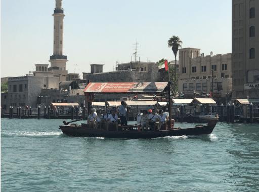 transporte publico en Dubai