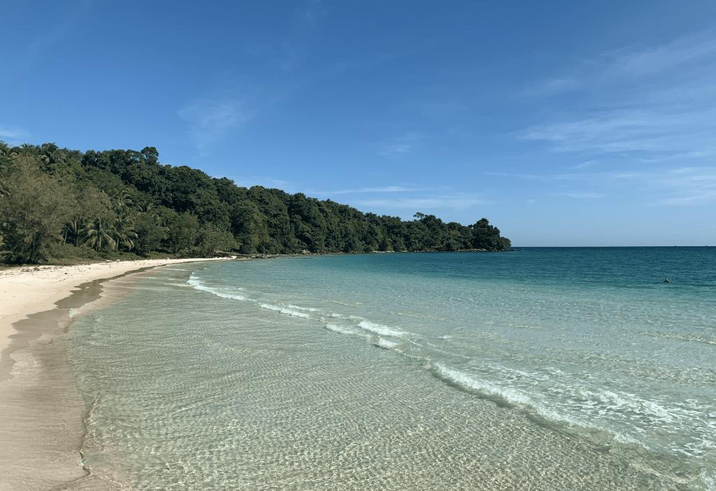 las mejores playas de Camboya