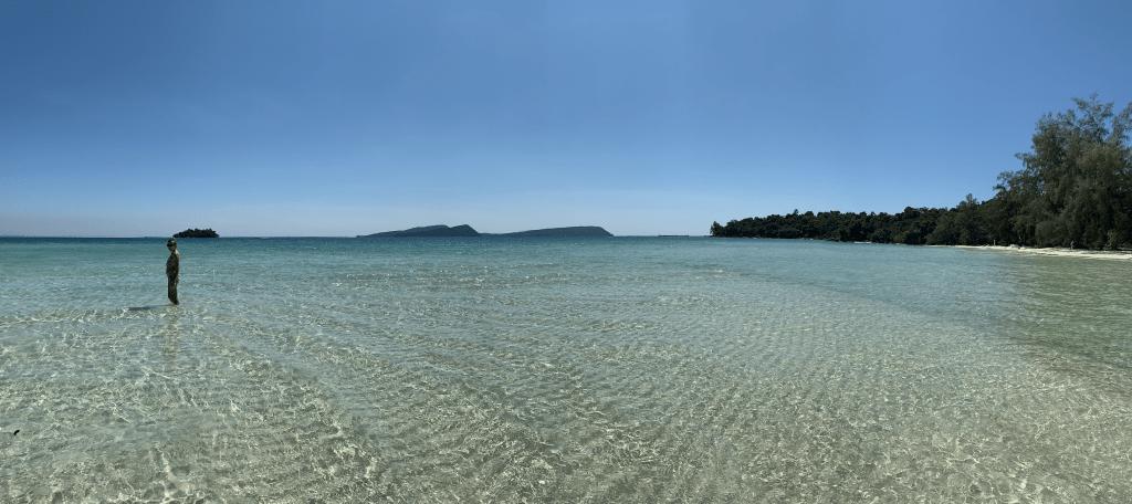 playas de las islas de Camboya