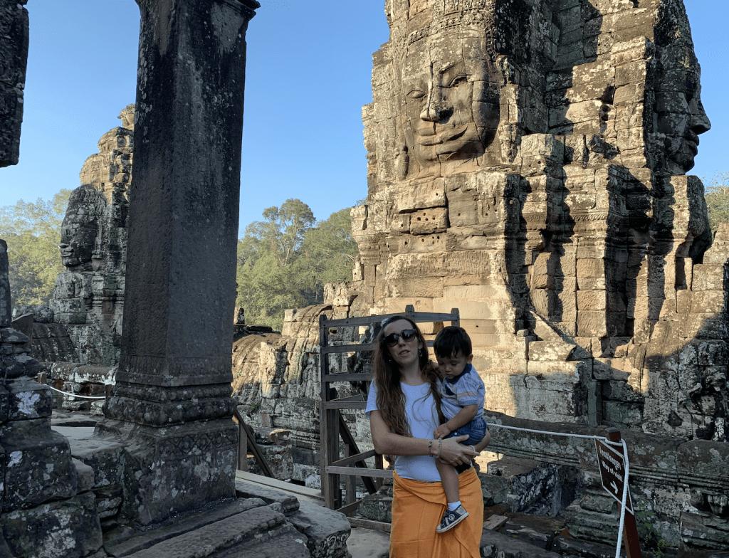 templos de angkor en Tuk tuk