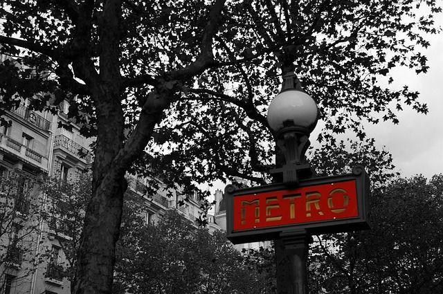 paradas del metro de paris