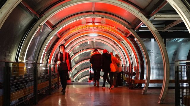 vistas del Museo Pompidou