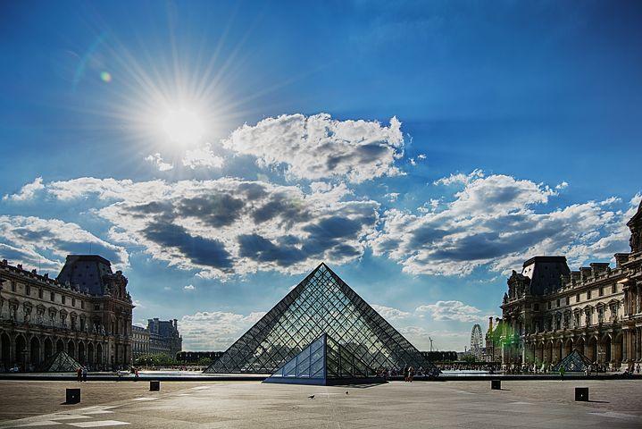 entradas al museo del Louvre