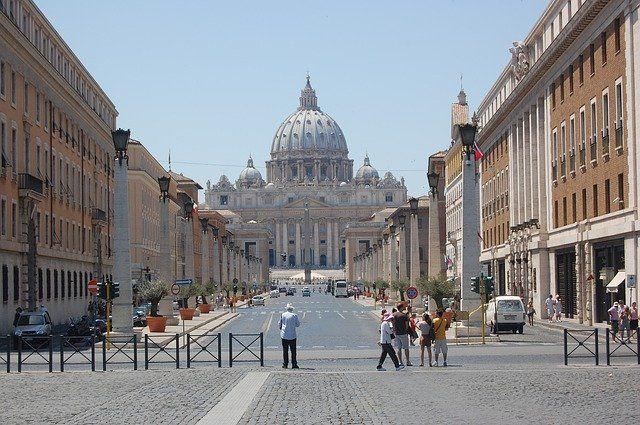 vista al vaticano