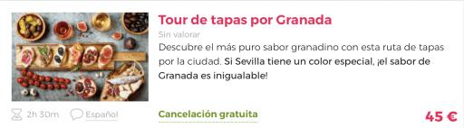 Tapear por Granada