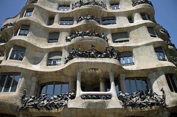 La Pedrera o Casas Mila de Gaudi
