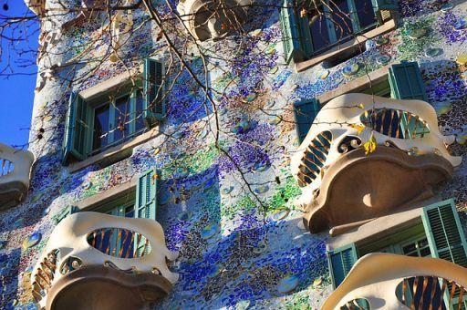 la Casa Batllo de Barcelona