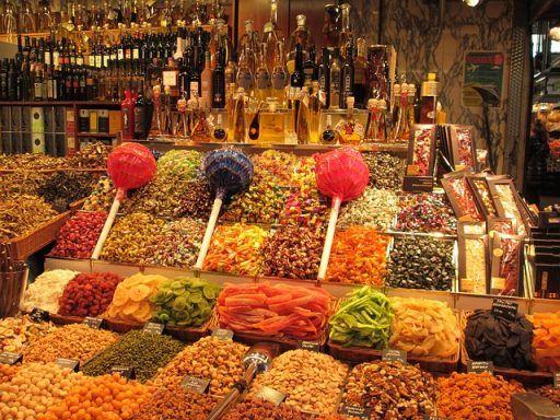 el mercado de la boqueria de Barcelona