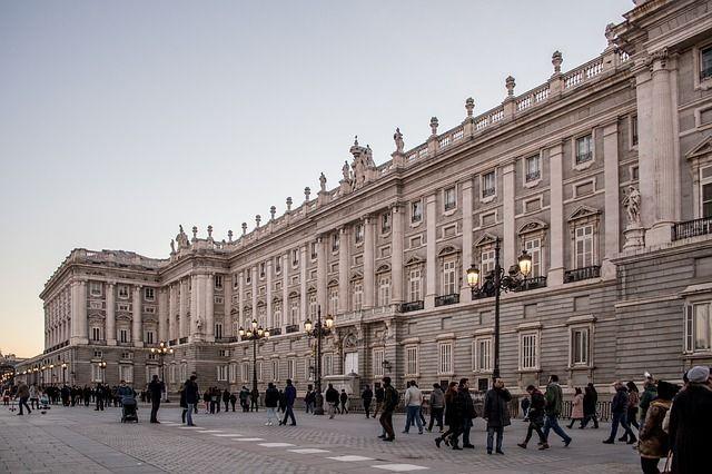 entrada gratis al palacio real de Madrid